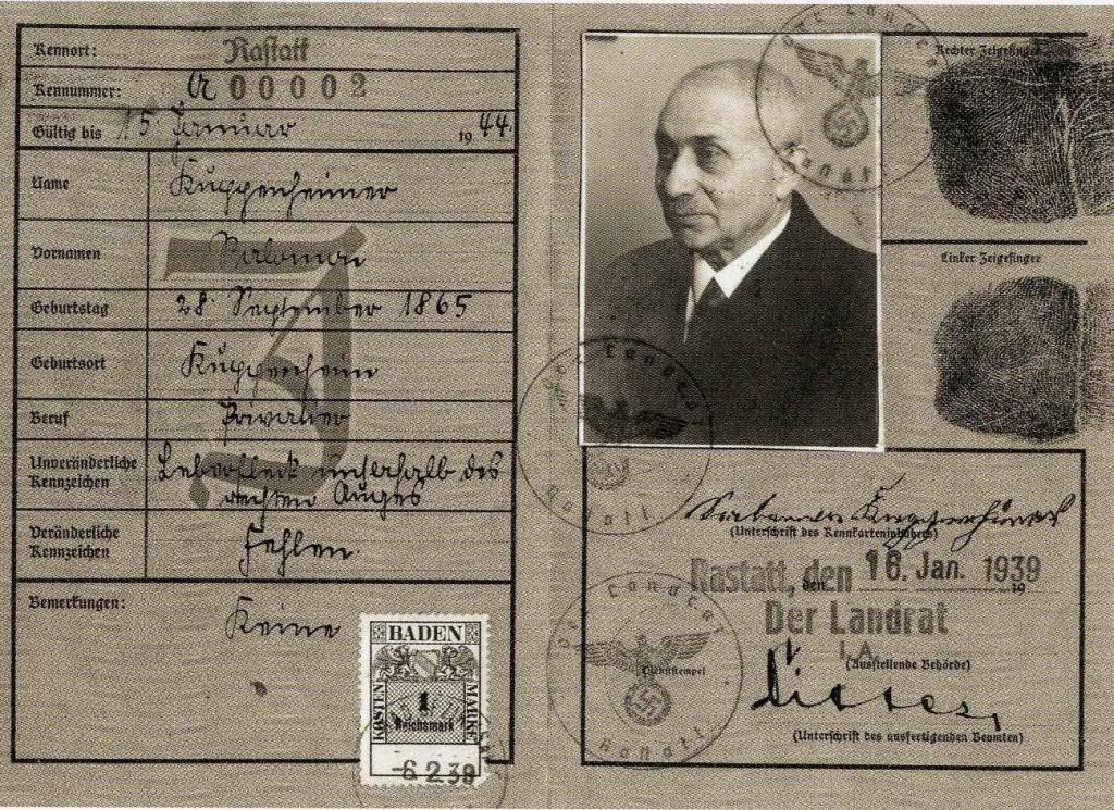 Kuppenheimer Kennkarte